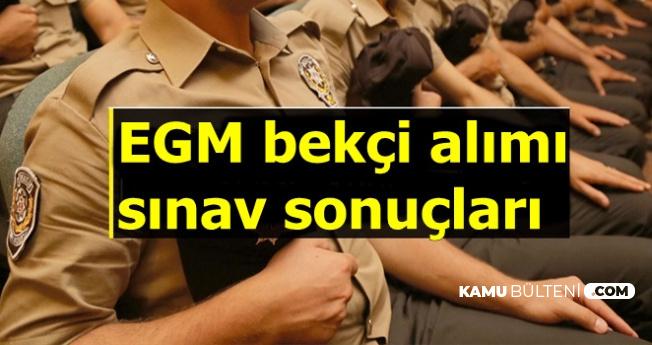 Polis Akademisi Bekçi Alımı Sınav Sonuçları MEB Tarafından Açıklandı-2019/1 VE 2019/2