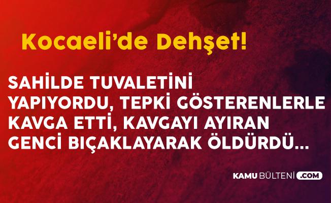 Sahildeki 'Tuvalet Kavgası' Ölümle Sonlandı! Sahilde Açık Alanda Tuvaletini Yapan Şahıs, Kavgayı Ayıran Genci Bıçakladı!