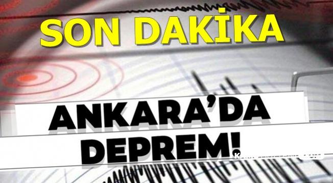 Son Dakika! Ankara Kazan'da Deprem Meydana Geldi