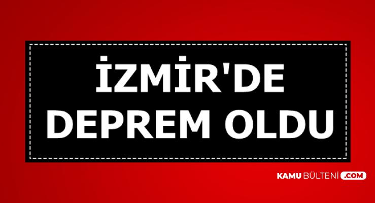 Son dakika: İzmir'de Deprem Oldu-İşte Deprem Anı