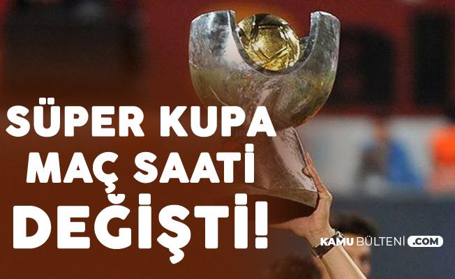TFF'den Açıklama Geldi: Galatasaray-Akhisarspor Süper Kupa Finali Saatinde Değişiklik Yapıldı