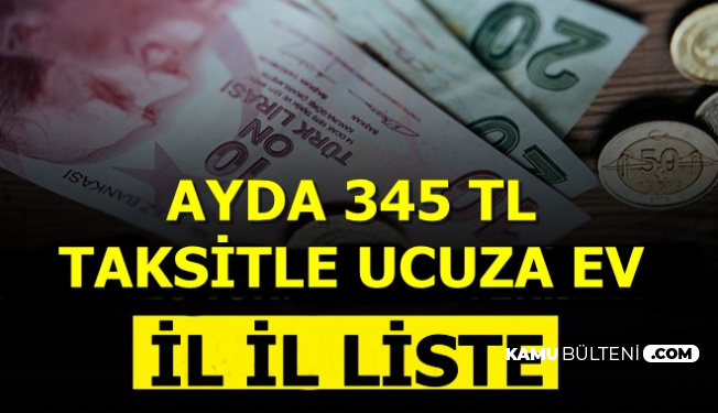 TOKİ Kampanyası Başladı Ayda 345 TL Taksitle Ev
