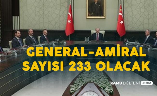YAŞ Kararları Neticesinde 14 General ve Amiral Üst Rütbeye Yükseltildi