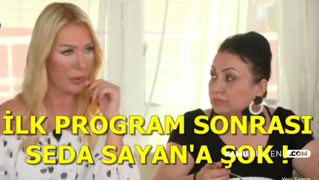 Yemekteyiz İlk Bölümü Sonrası Seda Sayan'a Şok