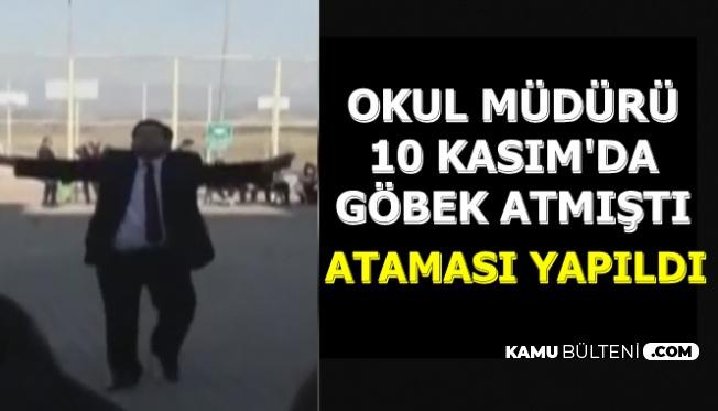 10 Kasım'da Göbek Atan Okul Müdürü Görevine Geri Alındı
