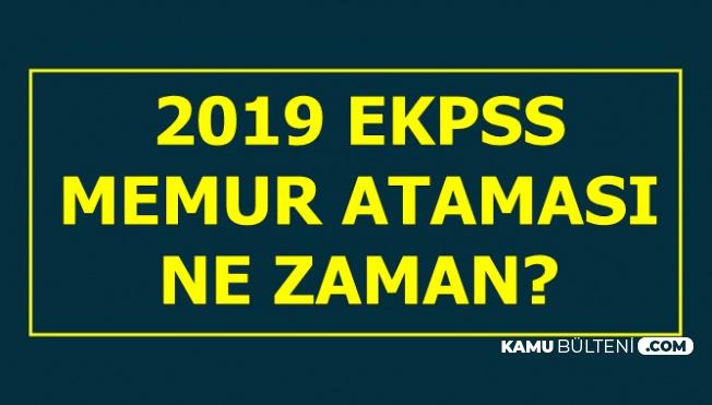 2019 EKPSS ile Memur Alımı Bekleniyor