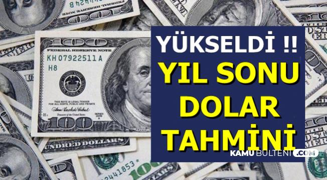 2019 Sonu Dolar Kuru ve Enflasyon Tahmini Geldi: Rakamlar Değişti