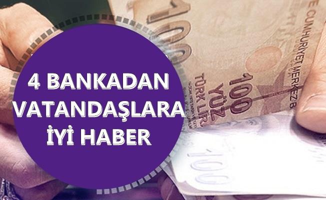 4 Bankadan Vatandaşlara İyi Haber: Düşük Faizli Kredi Başvuruları Başladı