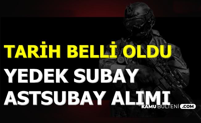 5-6 Bin TL Maaşla Yeni Yedek Subay-Astsubay Alımı Tarihi