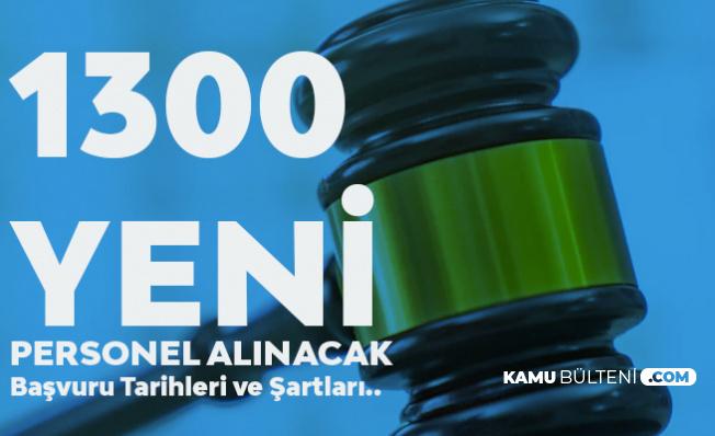 Adalet Bakanlığı 1300 Hakim ve Savcı Alımı Başvuruları 31 Ekim- 7 Kasım Tarihlerinde Alınacak