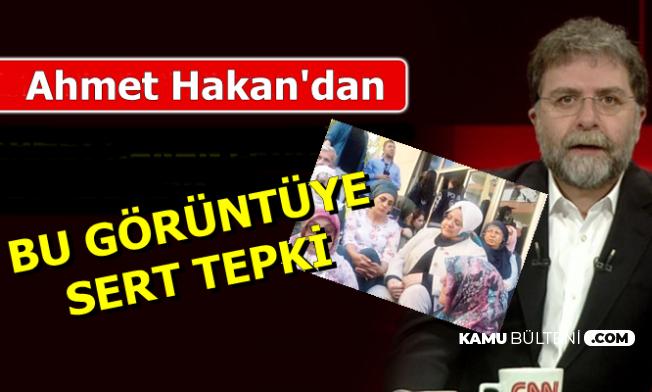 Ahmet Hakan'dan HDP Binası Önündeki O Görüntüye Tepki