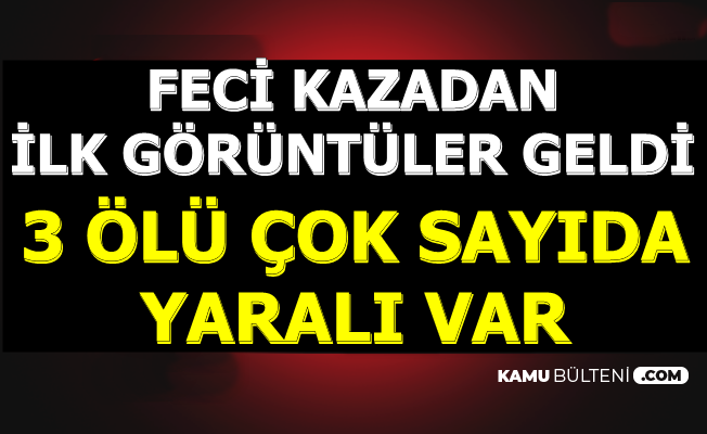 Ankara Mamak'tan Son Dakika Haberi: Otobüs Durağa Daldı: 3 Ölü