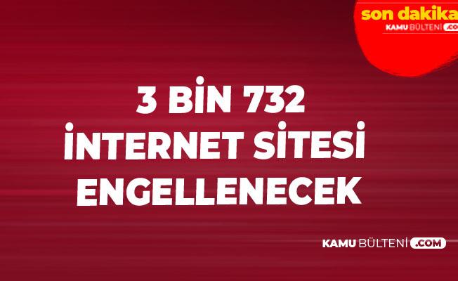 Bakan Açıkladı! 3 Bin 732 İnternet Sitesi için Engelleme Talebinde Bulunuldu