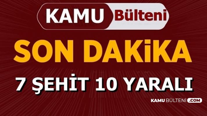 Diyarbakır'daki Hain Saldırının Bilançosu Açıklandı: 7 Şehit (Şehitlerin İsimleri)
