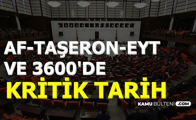 EYT-3600 Ek Gösterge-Mahkumlara Af ve Taşeronda Son Dakika Haberi!