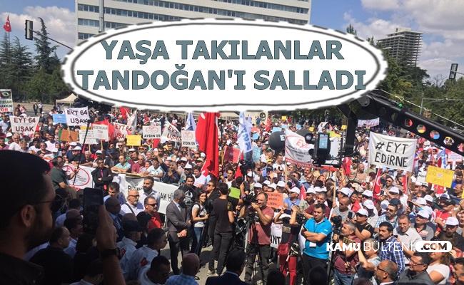 EYT Tandoğan'ı Salladı