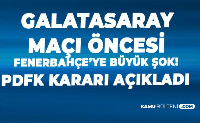 Fenerbahçe Spor Kulübü Başkanı Ali Koç'a Büyük Şok! Karar Açıklandı