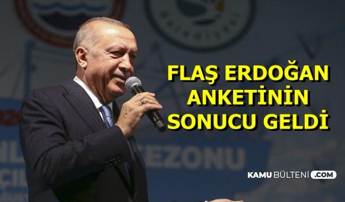 Flaş Cumhurbaşkanı Erdoğan Anketinin Sonucu Açıklandı