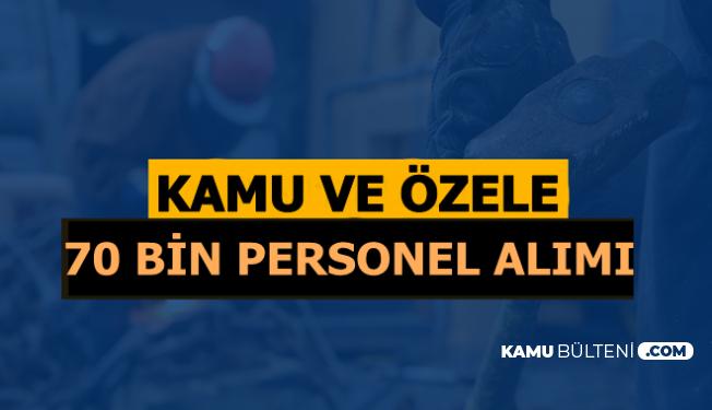 İŞKUR 70 Bin Personel ve Memur Alımı 19 Eylül 2019