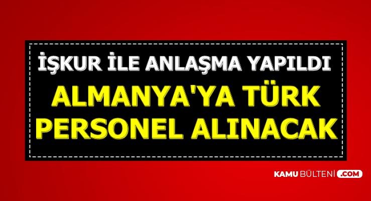 İŞKUR ile Anlaşma Yapıldı: Almanya'ya Türk İşçi Alımı