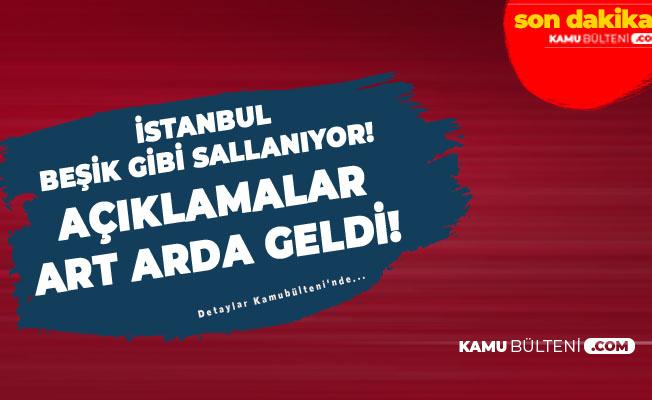 İstanbul Beşik Gibi Sallanıyor! Türk Kızılay'ından İstanbul'daki Depreme İlişkin Açıklama