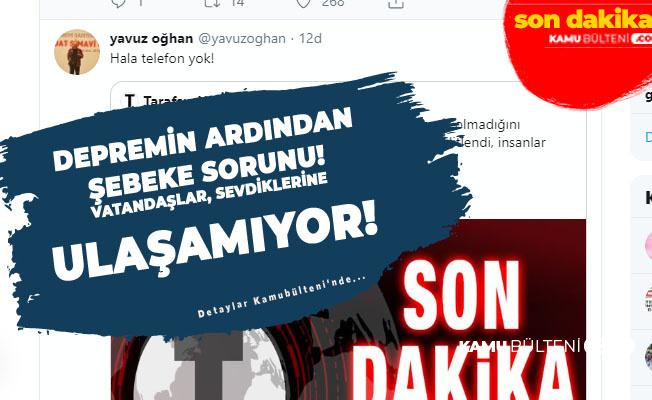 İstanbul'daki Depremin Ardından Şebeke Sorunu! İnsanlar Tanıdıklarına Telefonla Ulaşamıyor! (Turkcell, Vodafone, Türk Telekom Neden Çekmiyor?)
