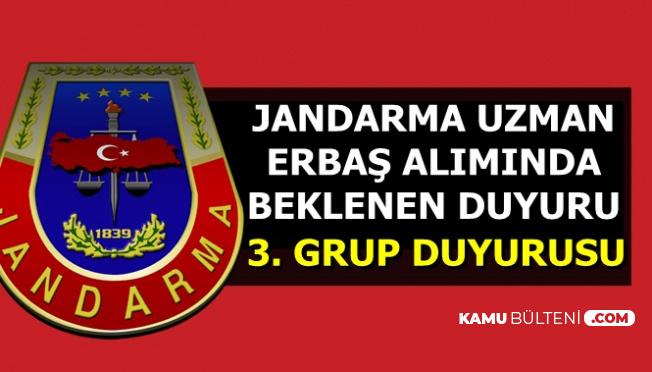 Jandarma'dan Beklenen Uzman Erbaş Alımı Duyurusu Geldi-3. Grup Mülakat Tarihi