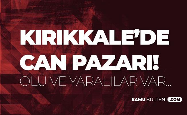Kırıkkale'de Korkunç Kaza: 1 Ölü, 10 Yaralı