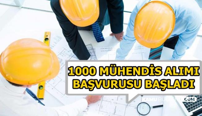 KPSS'siz 1000 Mühendis Alımı