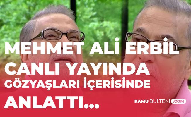 Mehmet Ali Erbil, Yaşadığı Sıkıntıları Canlı Yayında Hüngür Hüngür Ağlayarak Anlattı!