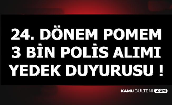Polis Akademisi 3 Bin Kadın Polis Alımı Duyurusu: 1. Yedek Sonuçları