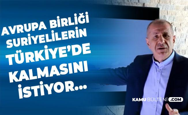 Prof. Dr. Ümit Özdağ: Türkiye'deki Suriyeliler Ülkelerine Dönmezse Sayıları 10 Milyon Olacak