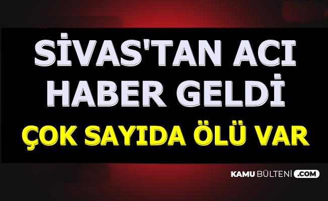 Sivas Şarkışla'dan Acı Haber: Feci Kazada 3'ü Çocuk 4 Kişi Hayatını Kaybetti