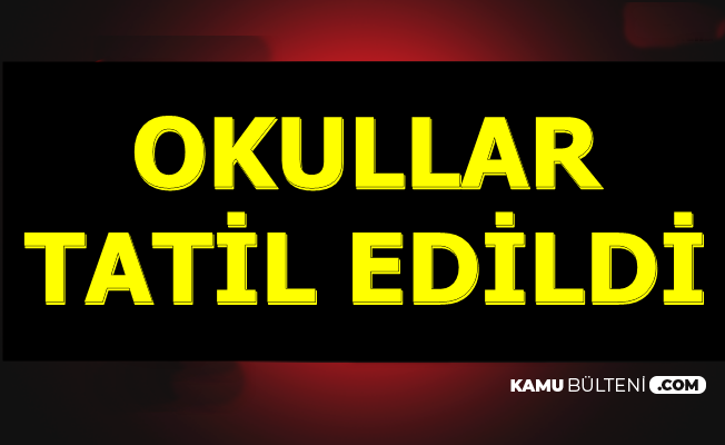 İstanbul ve Kocaeli'de Okullar Tatil Edildi-27 Eylül'de Tatil mi? Açıklandı
