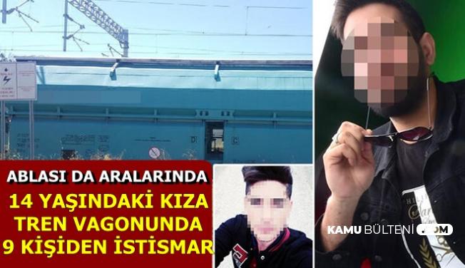 Trende İğrenç Saldırı: Ablası ile Arkadaşları Bir Oldu 14 Yaşındaki Kıza..