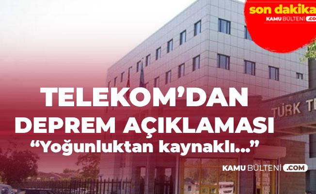 Türk Telekom'dan Deprem Sonrası Açıklama: Sabit Ses, Genişbant ve Fiber Altyapısında Herhangi Bir Kesinti ve Sorun Yok