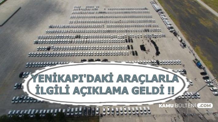 """Yenikapı'daki Araçlarla İlgili Açıklama Geldi: """"Utanıyorum"""""""