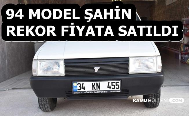 94 Model Şahin Rekor Fiyata Satıldı