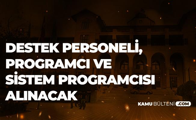 Ankara Hacı Bayram Veli Üniversitesi'ne En Az Ortaöğretim Mezunu Personel Alımı Yapılacak
