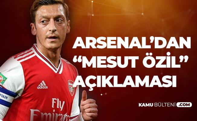 Arsenal Teknik Direktörü Emery: Mesut Özil Kararı Yönetimle Birlikte Alındı