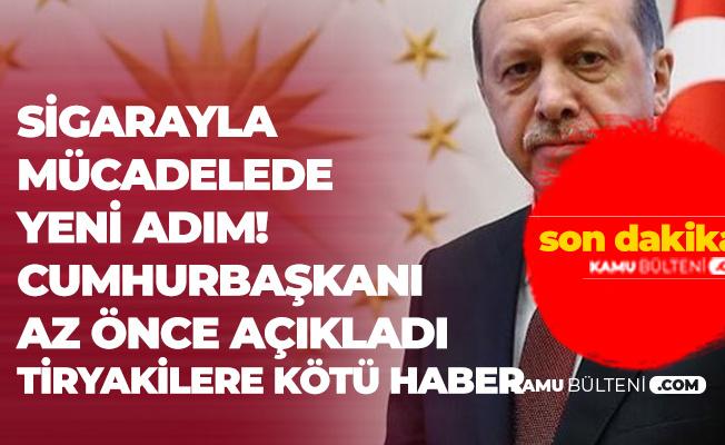Cumhurbaşkanı Erdoğan'dan Sigara Yasağı Açıklaması : Bunlar Benim Milletimi Zehirleyerek Zengin Olmak İstiyor
