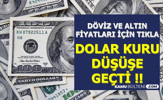 Dolar Kuru Pence'nin Gelmesi ile Düştü