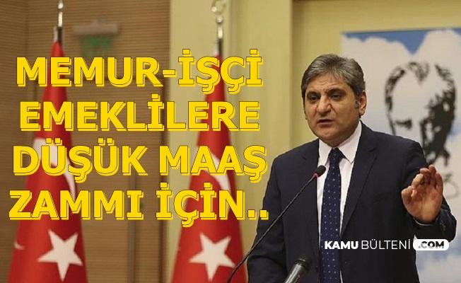 Erdoğdu'dan Enflasyon Açıklaması: Memur-İşçi ve Emekliye Düşük Maaş Zammı İçin..