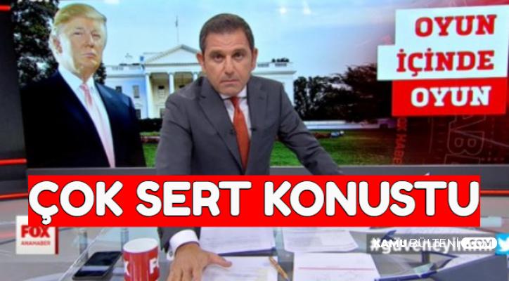 Fatih Portakal'dan Flaş Trump Açıklaması