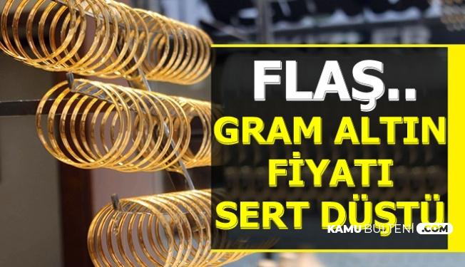 Flaş: Gram Altın Fiyatında Sert Düşüş