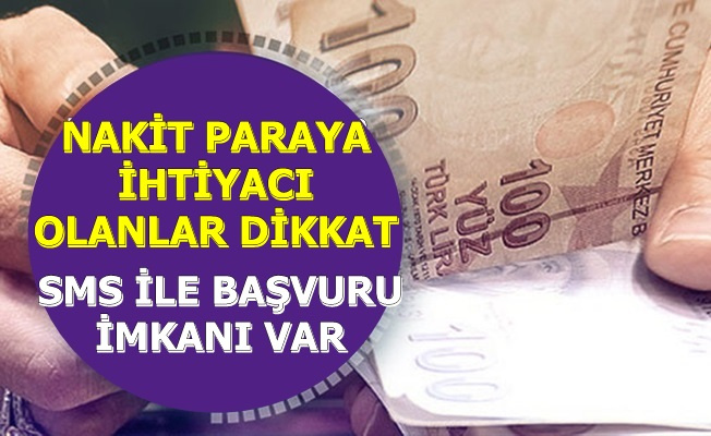 Günde 4 TL ile: Nakit Paraya İhtiyacı Olanlara Bankadan İyi Haber Geldi