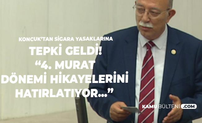 İsmail Koncuk'tan 'Sigara Yasağı' Tepkisi: 4. Murat Dönemini Hatırlatıyor