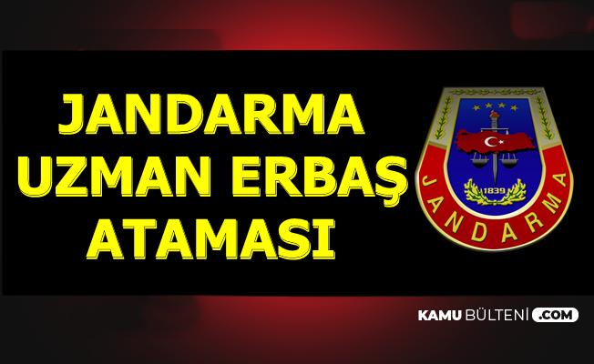 Jandarma Komando Uzman Erbaş Atama İlanı 2019