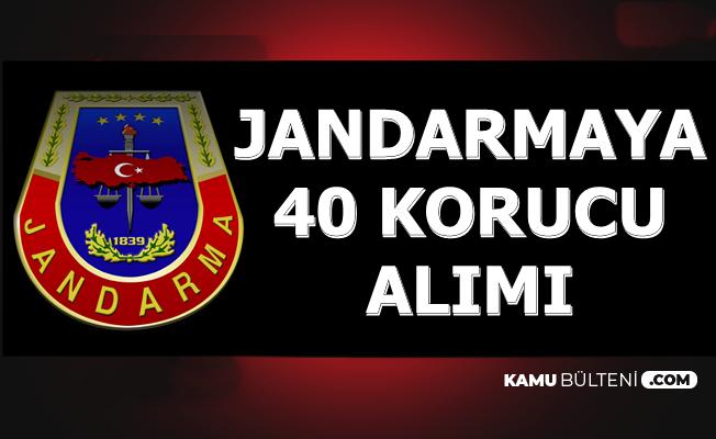 Jandarma'ya 40 Korucu Alımı