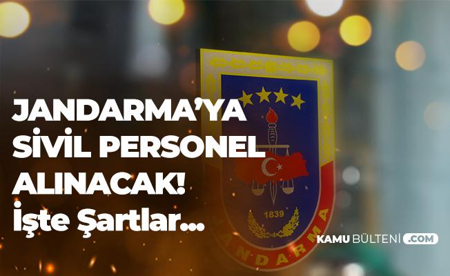 Jandarma'ya Sivil Personel Alımı Ön Başvuruları 25 Ekim'de Sona Erecek